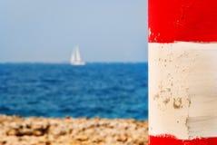 Drömmar av seglingen Arkivfoto
