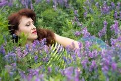 Drömmar i en felik glänta Royaltyfria Bilder