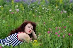 Drömmar i en felik glänta Fotografering för Bildbyråer