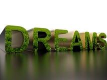 Drömmar - naturbegrepp vektor illustrationer