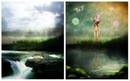 Drömmarnas land Arkivbilder