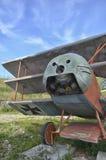 1 dr airshow Dreidecker Fokker Prague Ja trójpłat pierwsza wojna światowa Zdjęcia Stock