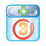Dr. appointment icon Royalty Free Stock Photo