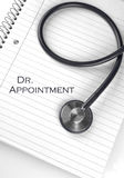Dr. Appointment Royalty Free Stock Image