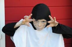 dräkten hallowen Fotografering för Bildbyråer