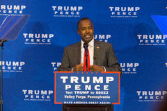 Dr Ben Carson in Valley Forge Royalty Free Stock Images
