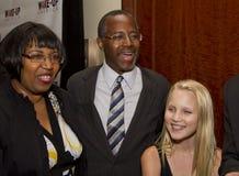 Dr. Ben E Carson die misschien voor U lopen S Voorzitter Stock Foto