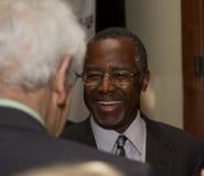 Dr Ben E Carson możliwie biega dla U S prezydent zdjęcia stock