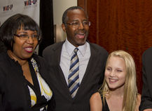 Dr Ben E Carson możliwie biega dla U S prezydent Zdjęcie Stock