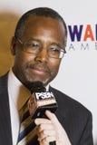 Dr Ben E Carson możliwie biega dla U S prezydent Fotografia Royalty Free