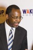 Dr Ben E Carson możliwie biega dla U S prezydent obrazy stock