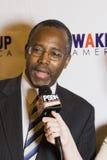 Dr Ben E Carson możliwie biega dla U S prezydent Obraz Stock