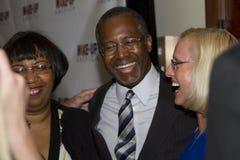 Dr. Ben E Carson que corre possivelmente para U Presidente de S fotografia de stock royalty free