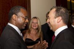 Dr. Ben E Carson que corre possivelmente para U Presidente de S imagens de stock royalty free
