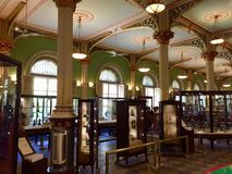 Dr Bhau Daji knattemuseum, Mumbai Indien royaltyfri foto