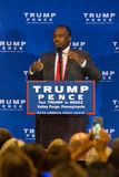 Dr Carson Campaigns Near Valley Forge Royalty Free Stock Photos