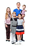 Dr. and children Stock Images