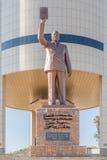 dr chiny prowincja Guangdong Guangzhou Posąg Sun Yat sen Sam Nujoma przy niezależność pomnikiem w Windhoek Zdjęcia Stock