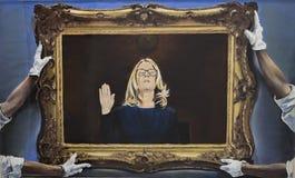 Dr. Christine Blasey Ford royalty-vrije stock fotografie