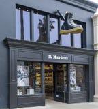 Dr. De Buitenkant en het Embleem van de martersdetailhandel Royalty-vrije Stock Afbeelding