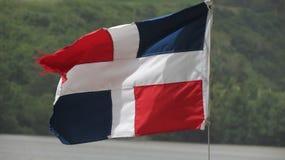 DR flaga Zdjęcie Stock