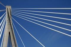 Dr. Frank Tudman's bridge. In Dubrovnik (Croatia Royalty Free Stock Photo