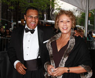 Dr. Freeman A. Hrabowski und Jackie Hrabowski stockbilder