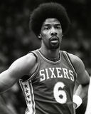 Dr. J, Julius Erving Stockbild