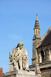 Dr Johnson statue, Lichfield. Royalty Free Stock Images