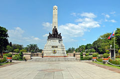 Dr. Jose Rizal Monument Stockfotos