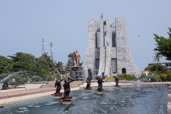 Dr Kwame Nkrumah Musem arkivbilder
