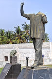 Dr. Kwame Nkrumah Vanzalized Statue Royalty Free Stock Images