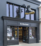 Dr. Martens Retail Store Exterior and Logo. Royalty Free Stock Image
