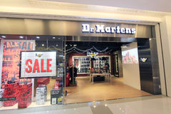 Dr martens shop in hong kong Stock Photo
