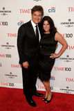Dr. Mehmet Oz, Lisa Oz. NEW YORK-APR 29: Dr. Mehmet Oz (L) and wife Lisa Oz attend the Time 100 Gala celebrating its Time 100 Issue of the  Most Influential Royalty Free Stock Image