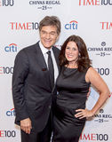 Dr. Mehmet Oz and Lisa Oz Royalty Free Stock Image