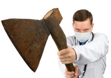 Dr. murderer Royalty Free Stock Photo
