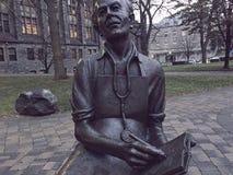 Dr Norman Bethune staty Toronto Kanada arkivbild