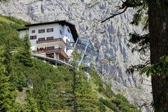 Dr. Oedl House - alpine refuge Stock Photo