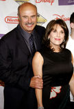 Dr. Phil McGraw and Robin McGraw Stock Images