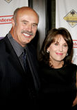 Dr. Phil McGraw and Robin McGraw Stock Photo