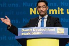 Dr. Philipp Roesler, rektor och federal minister av nationalekonomi fotografering för bildbyråer