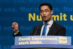 Dr. Philipp Roesler, rektor och federal minister av nationalekonomi arkivfoto