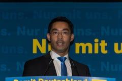 Dr. Philipp Roesler, rektor och federal minister av nationalekonomi royaltyfri fotografi