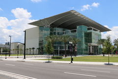 Dr Phillips Center for the Perfoming Arts. ORLANDO, FL - June 9 2015:Dr Phillips Center for the Perfoming Arts.Located in Downtown Orlando Florida on June 9 2015 Royalty Free Stock Photos