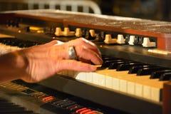 Dr. Pickup jouant chez Vic Sur Cere le 15 juillet 2014 Images libres de droits