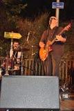 Dr Pickup som spelar på Vic Sur Cere 15 Juli 2014 Royaltyfria Foton