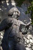 Dr Samuel Johnson statua w Londyn Zdjęcia Royalty Free