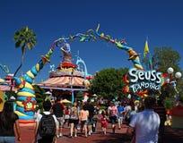 Dr. Seuss Landing royaltyfri foto