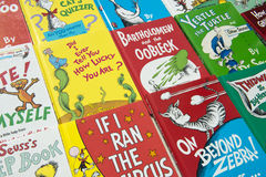 Dr. Suess Children Books Arkivbild
